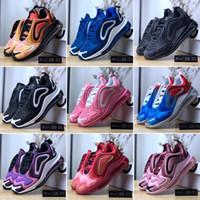 açık hava ayakkabıları büyük toptan satış-Büyük Çocuk Çocuk Sneakers Boys için Işıklı Koşu Ayakkabıları Sneaker Boy Spor Ayakkabı Gençlik Spor Chaussures Çocuk Açık Enfants Dökün