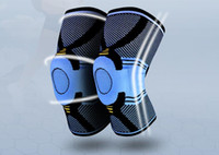 joelho apoio chaves para basquete venda por atacado-1 pc de joelho de compressão de apoio de compressão de lesão de joelho de compressão de voleibol esporte de segurança esporte engrenagem de proteção