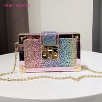 Wholesale bling cell phone purse online – custom Pink Sugao women purse bags for women bling crossbody bags for high quality purses and handbags shoulder bag chain
