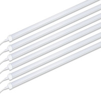 Wholesale low shop resale online - 25 pack ft Led Tube Light Fixture w lm K Super Bright White for Garage Shop Warehouse Low Ceiling Plug and Play US Stock