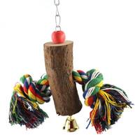 roi corde achat en gros de-Grande moyenne et petite perroquet Rongeur Original Kapok Rope Rongeant Peter Jackson King Kong Ash Perroquet Jouets Articles Perroquet Jouets