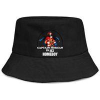 хип-хоп военная шляпа оптовых-Женские мужские моющиеся однотонные регулируемые капитан морган логотип панк хип-хоп хлопок теннисная кепка летние шляпы военные кепки ведро шляпа воздушные сетки шляпы F