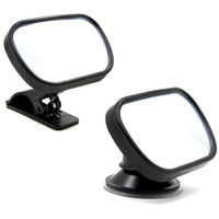 Wholesale car mirror clips for sale - Group buy Baby Mirror Back Car Seat Cover for Infant Car Rear Seat View Mirror Baby Child Safety With Clip and Sucker Black