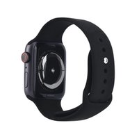 Wholesale fitness online - Magnetic Adsorption Wireless Charging Goophone Watch Smart Watch mm Bluetooth MTK2502C Wearable Smartwatch for iPhone XS MAX XR X