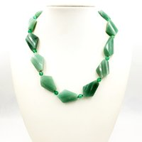 Wholesale gold aventurine for sale - Group buy Lily Jewelry Green Aventurine Jades Necklace Black Jades Toggle Clasp cm inches