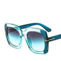 черные старинные квадратные очки оптовых-Vintage Square Sunglasses Women Goggles Mens Mirror Sun Glasses Female Fashion  Rivet Black Eyewear Gafas de sol