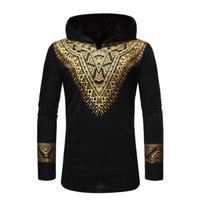 Black Afircan Clothes 2020 Fashion African Dashiki Print Hoodie Sweatshirt Men Hip Hop Streetwear African Hoodies Men Sudaderas