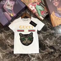t-shirts pour bébé achat en gros de-T-shirts bébé garçon filles + 7 ans COTON T-shirts enfants coton 2 couleurs COCO