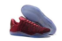 ingrosso kobe xi-Nuovo Designer Zoom Kobe Venomenon XI EP Scarpe da basket moda scarpe sportive outdoor Scarpe da ginnastica Professional KB 11 Scarpe da ginnastica Elite Size EUR 7