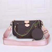 moda çanta toptan satış-En çok satan çanta omuz çantaları tasarımcı çanta moda çanta çanta cüzdan telefon torbaları Üç parçalı kombinasyonu torbaları ücretsiz alışveriş