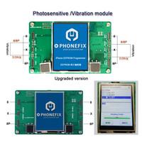 programador para eeprom al por mayor-PHONEFIX Sensor de luz Programador para iPhone 8 8 Plus X Pantalla LCD EEPROM Vibración de datos fotosensibles Herramienta de reparación de lectura y escritura