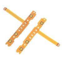 ps vita için kapaklar toptan satış-1 Pair SL + SR Düğme Anahtar Flex Kablo Değiştirme Anahtarı Denetleyicisi Yedek Parçaları