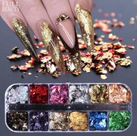diy kağıt sanatları toptan satış-Mee_You Tırnak Glitter Glitter Sequins Popüler Platin Rendelenmiş Kağıt Jin Cong Nail Süsler Nail Art Dekorasyon DIY Salon MY0038 için