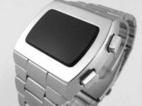 relógios digitais venda por atacado-12 24 horas de ASTRONAUT 70s 1970 estilo antigo Vintage LED DIGITAL Rare Retro Assista