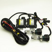 hid dönüştürme xenon kitleri far h4 toptan satış-H4 55 W HI / LO Işın Araba HID Far Dönüşüm Kiti için Bi-Xenon Far