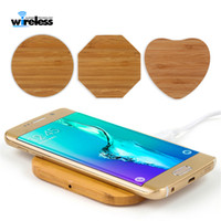 Wholesale wooden qi charger for sale – best Wooden Qi Wireless Charger for iP X XS Max XR Wireless Charging Pad for Samsung S8 S9 S10 plus