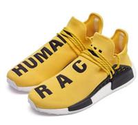 Wholesale human race red shoes online - Women s Pw Hu Holi Mc Running Shoes Human Race Mens Walking Shoe tennis shoes Sneakers For Men Cheap Outdoor Shoes Cheap Discount Shoe