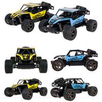 baterías de coche de control remoto al por mayor-Nuevo RC Car 2.4GHz Radio Control remoto 1:18 Modelo Escala Coche de juguete con batería 20km / h RC Toy Buggies