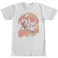 ingrosso migliori camicie maschili-Maglietta da uomo Maglietta da uomo Lost Gods Desert Horse