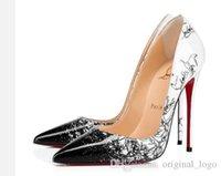 yüksek topuklu unisex toptan satış-Hıristiyan Lüks Louboutin CL 2019 D3 Kadınlar Kırmızı Alt Yüksek Topuklar Peep Toe Stiletto Elbise Ayakkabı Platformu Patent Deri Mat renk 08 Pompaları
