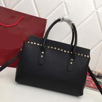 Wholesale togo leather handbag for sale - Group buy designer handbags togo real leather designer bags Valotine purse bag women fashion totes purses women handbag