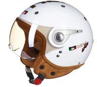 vespa kask xl toptan satış-2019 Yeni bağbozumu Beon motosiklet motosiklet kask vespa kasko açık yüz capacetes motociclistas capacete