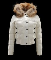 bayanlar kış parkaları satışı toptan satış-2020 satış kadın Aşağı Parkas kış ceket kalınlaşma Kadın Giysileri bayanlar gerçek rakun kürk yaka hood Aşağı Parkas