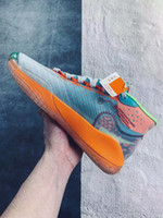 Wholesale hook stitch resale online - New Mens ZOOM KD Kevin Durant XII Basketball Shoes Cant Jump Dub Nation S KID Colorway Elite Athletic Sport Sneakers