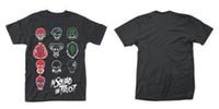 ingrosso nuovi tessuti per la faccia-Nuovo T-Shirt ufficiale SUICIDE SQUAD - IN SQUAD FACES 2018 T-Shirt moda maglia confortevole tessuto Hip Hop manica corta