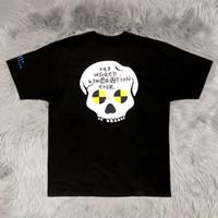 geração de algodão venda por atacado-19SS EUA Asap Rocky Ferido Geração Tour Merch Tee Hip Hop Dos Desenhos Animados de Manga Curta T Shirt homens Mulheres de Skate Street Cotton Casual tee