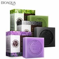 Wholesale face oils for acne for sale - Group buy BIOAQUA Natural Plant Essential Oil Handmade Soap Whitening Moisturizing Remove Acne Clean Bath Soap Bamboo Charcoal Soap g