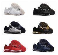Wholesale mans shoes 47 size resale online - High Quality New Arrival Mens Shoes Men Sneaker Maxes Mens Running Sport Shoes BENGAL Orange Grey KPU Size