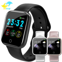 Wholesale cycling monitors for sale - Group buy Smart Watch I5 Waterproof IP67 Fitness Tracker Heart Rate Monitor Blood Pressure Cycling Sport Bracelet for iOS Android Smartwatch