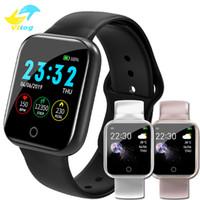 Wholesale russian silver bracelets resale online - Smart Watch I5 Waterproof IP67 Fitness Tracker Heart Rate Monitor Blood Pressure Cycling Sport Bracelet for iOS Android Smartwatch