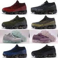 bebek kızı mor top toptan satış-Nike air max Bebek Çocuk Ayakkabı Yeni 2018 Koşu Ayakkabıları Çocuk Atletik Ayakkabılar Erkek Kız Eğitim Spor Sneakers Siyah Beyaz Gri Turuncu Mor boyutu 28-35