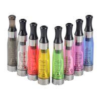 kit de vaporizador ce5 al por mayor-Ego CE4 Clearomizer Atomizador Cartomizer ce5 ce6 tank 1.6ml Vaporizador para ego-t ego-k batería e kits de inicio de cigarrillos 8 colores DHL