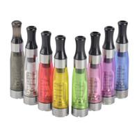 kit de vaporisation ce5 achat en gros de-Ego CE4 Clearomizer Atomizer Cartomizer ce5 ce6 réservoir 1.6ml vaporisateur pour ego-t ego-k batterie e kits de démarrage de cigarette 8 couleurs DHL