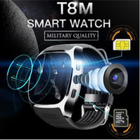 Wholesale bluetooth smart watch calling whatsapp online – T8 Bluetooth Smart Watch with Camera Facebook Whatsapp Support SIM TF Card Call Sport Smartwatch for IOS Android Smart Wearable Technology