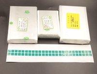 oca optischer kleber großhandel-50 teile / los 250um OCA Optical Clear Klebstoff für iPhone X 8 7 plus 6 6 plus 5 OCA Kleber Touch Glaslinse Film