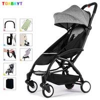 ingrosso passeggini portatili pieghevoli per bambini-Il passeggino leggero originale yoya può essere trasportato su un carrello a ombrello pieghevole da 175 gradi
