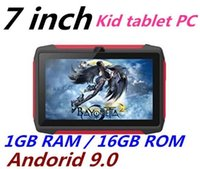 Wholesale Newest kid Tablet PC Q98 Quad Core Inch HD screen Android AllWinner A50 real GB RAM GB with Bluetooth wifi with free dhl