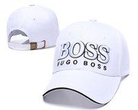 yedek şapkalar toptan satış-Toptan BOSS En Kaliteli 2019 Hugo Casquette gorra Snapback Ayarlanabilir Beyzbol Şapkası kapaklar Hip hop Şapka Snap back kemik Moda baba şapka