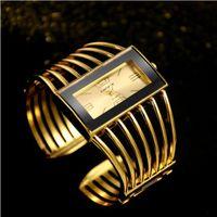 edle quarzuhr großhandel-Frauen luxus super blingbling mode keramik high-end klassische edle geschenk kristall hohl mode armbanduhr quarz armbanduhr