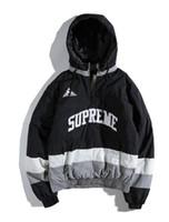 la mayoría de la ropa al por mayor-2018aape Guucci y-3 MA-1 Ropa acolchada de algodón Uniforme de béisbol de supremacía Lo más fashiona Hip Hop Kanye West Justin Bieber Hockey sobre hielo