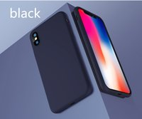 Wholesale NEW B19 luxury leather back case for iPhoneX pure color back cover for iPhoneX high quality