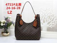 Wholesale metallic linen resale online - 2019 styles Handbag Famous Designer Fashion Leather Handbags Women s Tote Shoulder Bags Lady Leather Handbags Bags purse drop shipping M011