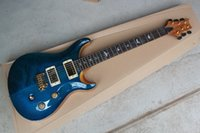 Wholesale guitar shop free shipping for sale - Group buy New to blue electric guitar high quality guitar custom shop