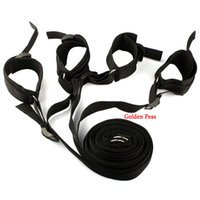 Wholesale therapy beds resale online - Under Bed Restraint Bondage Adult Erotic Sex Furniture Fetish Sex Handcuffs Ankle Cuff Sex Toys for Couples Flirting