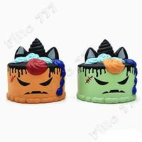 хрустящий кремовый торт оптовых-Squishy Toy Kawaii Jumbo Kawaii Cartoon Cake Squishy Медленно растущий крем Ароматическая игрушка для снятия стресса Антистрессовая защита от стресса