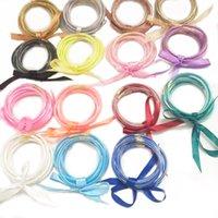 ingrosso braccialetti di braccialetto di gelatina-Set di braccialetti con involucro in silicone Braccialetti con braccialetti a forma di rotonda a forma di gelatina con brillantini a forma di bling con bowknot 11 5zy E1
